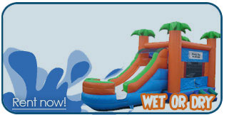 bounce house slide combo rentals portland oregon