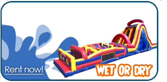 wet obstacle course rentals portland