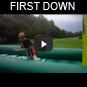 first down bungee basketball rentals oregon
