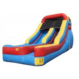 (A) 15ft Dry Slide Rental