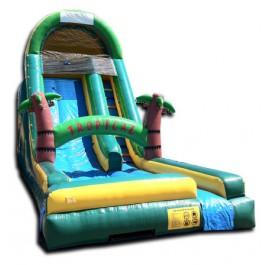 (B) 18ft Tropical Dry Slide