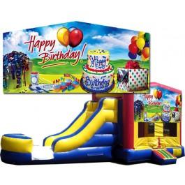 (C) Happy Birthday 2 Lane combo (Wet or Dry)