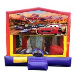 (C) Cars 5N1 Bounce Slide combo (Wet or Dry)