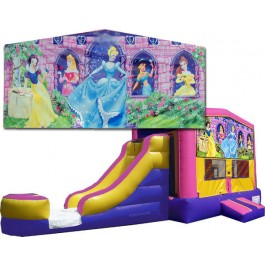 (C) Disney Princess Bounce Slide combo (Wet or Dry)