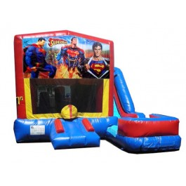(C) Superman 7n1 Bounce Slide combo (Wet or Dry)