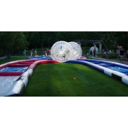 (D) 2 Zorb Balls with a Track