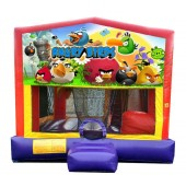 (C) Angry Birds 5n1 Bounce Slide combo (Wet or Dry)