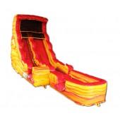 (B) 19ft Lava Dry Slide