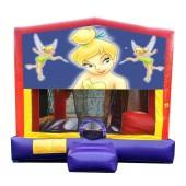 (C) Tinker Bell 5N1 Bounce Slide combo (Wet or Dry)