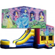 (C) Disney Princess Bounce Slide combo (Wet or Dry)