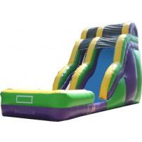 (B) 20ft Dry Wave Slide Rental