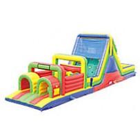 52ft Wet Obstacle Course w/16ft slide