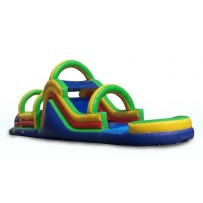 (B) 53ft Dry Obstacle Course w/16ft slide