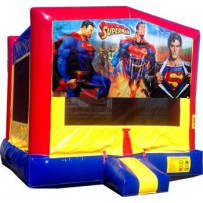 (C) Superman Bounce House