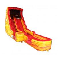 (B) 17ft Lava Dry Slide