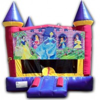 (C) Disney Princess Castle Bounce House