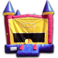 (A1) Modular Castle Bounce House -  Girl