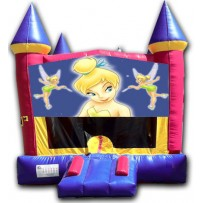 (C) Tinkerbell Castle Bounce House