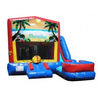 (C) Paradise 7n1 Bounce Slide combo (Wet or Dry)