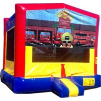 (C) Fire Dog Bounce House