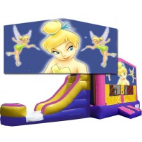 (C) Tinkerbell Bounce Slide combo (Wet or Dry)