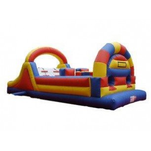 (B) 34ft Dry Obstacle Course w/slide