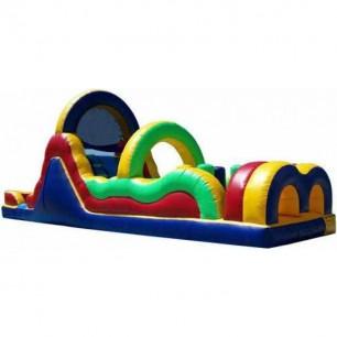 42ft Wet Obstacle Course w/12ft Slide