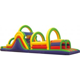 (B) 53ft Dry Obstacle Course w/14ft slide