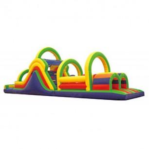 53ft Wet Obstacle Course w/14ft slide